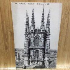 Postales: POSTAL DE BURGOS.CATEDRAL.21.EL CRUCERO.. Lote 195437790