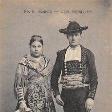 Postales: ZAMORA.- TIPOS SAYAGUESES. Lote 195454893