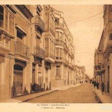 Postales: ZAMORA.- CALLE DE SANTA CLARA. Lote 195455355