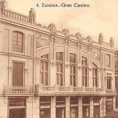 Postales: ZAMORA.- GRAN CASINO. Lote 195455405