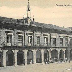 Postales: BENAVENTE.- CASA CONSISTORIAL. Lote 195455473