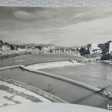 Postales: ANTIGUA POSTAL PRESA Y PUENTE DE CARLOS III DE MIRANDA DE EBRO BURGOS - CASTILLA Y LEÓN AÑOS 60 . Lote 195489677