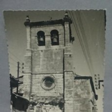Postales: ANTIGUA POSTAL FOTOGRAFÍA DE SANTO DOMINGO DE CASTROJERIZ BURGOS - CASTILLA Y LEÓN. Lote 195774100