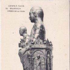 Postales: SALAMANCA - VIRGEN DE LA VEGA. Lote 197059997
