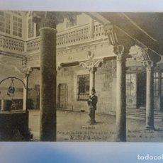 Postales: ANTIGUA CPA POSTAL DE SEGOVIA , PATIO DE LA CASA DEL MARQUÉS DEL ARCO, VER FOTOS. Lote 197283138