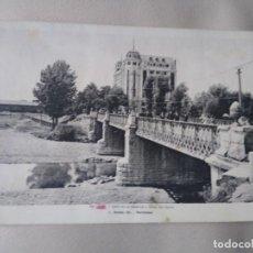 Cartes Postales: 59 LEÓN CALLE DE ESTACIÓN Y HOTEL DEL NORTE. L. ROISIN. ESCRITA. SIN CIRCULAR.. Lote 197329530