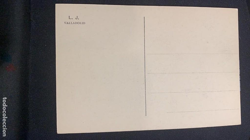 Postales: ANTIGUA POSTAL VALLADOLID ACADEMIA DE CABALLERÍA BIBLIOTECA FOTÓGRAFO LJ S XX - Foto 2 - 197339020