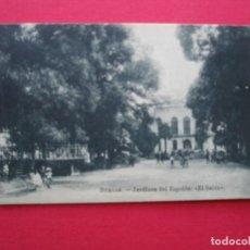 Postales: BURGOS. ANTÍGUA POSTAL JARDINES DEL ESPOLÓN EL SALÓN. Lote 197405777