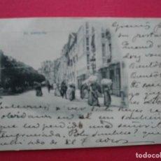 Postales: BURGOS. ANTÍGUA POSTAL DE BURGOS. EL ESPOLÓN. Lote 197407136