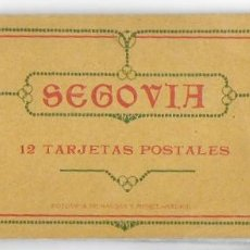 Postales: BP-117. SEGOVIA, 10 TARJETAS POSTALES FOTOTIPIA HAUSER Y MENET, INCOMPLETO.-. Lote 197548533