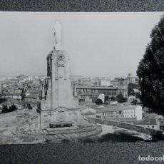 Postales: SORIA MONUMENTO AL SAGRADO CORAZÓN POSTAL FOTOGRÁFICA ANTIGUA EDICIONES PARIS. Lote 197804220