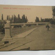 Postales: POSTAL DE ARANDA DE DUERO. BURGOS. CARRETERA DE MADRID. Lote 197869828