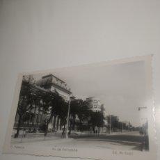 Postales: TRES POSTALES DE PALENCIA AVENIDA DE VALLADOLID LA CATEDRAL EL TRASCORO DE LA CATEDRAL. Lote 197934875