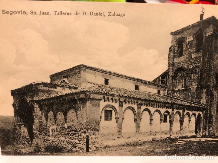 Postales: LOTE DE 14 POSTALES DE SEGOVIA. - Foto 4 - 197940940