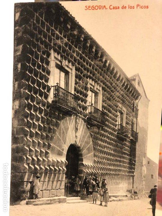 Postales: LOTE DE 14 POSTALES DE SEGOVIA. - Foto 8 - 197940940