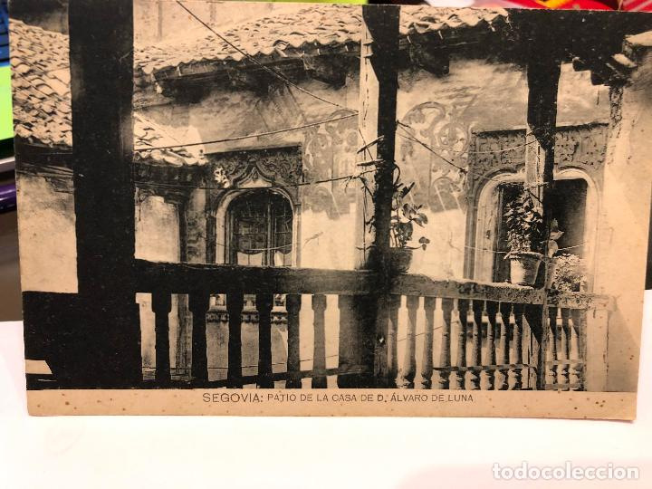 Postales: LOTE DE 14 POSTALES DE SEGOVIA. - Foto 9 - 197940940