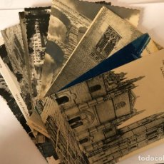 Postales: LOTE DE 12 POSTALES DE SEGOVIA.. Lote 197942856