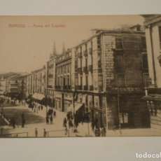 Postales: POSTAL DE BURGOS. ACERA DEL ESPOLÓN.. Lote 198035761