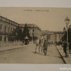 Postales: POSTAL DE BURGOS. PUENTE DE SAN PABLO.. Lote 198037066
