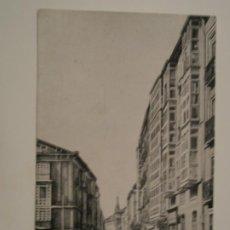 Postales: POSTAL DE BURGOS. CALLE DE LAIN CALVO.. Lote 198037450