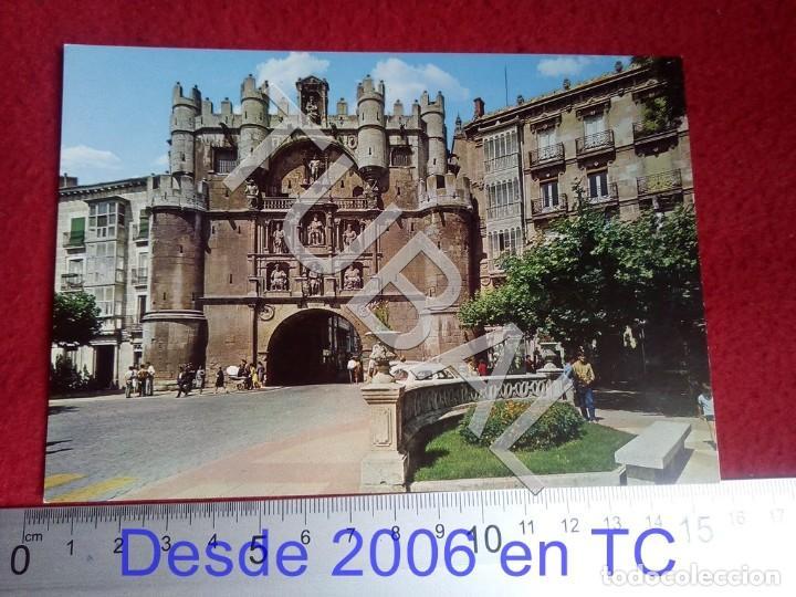 TUBAL BURGOS ARCO DE SANTA MARIA 53 NC POSTAL B55 (Postales - España - Castilla y León Moderna (desde 1940))