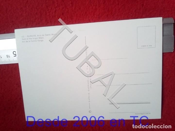 Postales: TUBAL BURGOS ARCO DE SANTA MARIA 53 NC POSTAL B55 - Foto 2 - 198149596