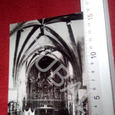 Postales: TUBAL MORON DE ALMAZAN IGLESIA DE LA ASUNCION ALTAR MAYOR SORIA NC POSTAL B55. Lote 198151241
