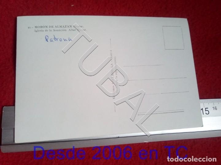 Postales: TUBAL MORON DE ALMAZAN IGLESIA DE LA ASUNCION ALTAR MAYOR SORIA NC POSTAL B55 - Foto 2 - 198151241