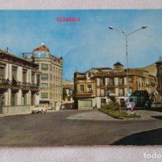 Cartes Postales: 435 ASTORGA PLAZA DEL OBISPO ALCOLEA, EDIC. PARIS SIN CIRCULAR RENAULT DAUPHINE GORDINI. Lote 198471368