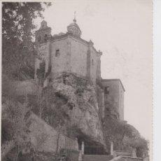Postales: SORIA . FOTO ORIGINAL SUBIDA A SAN SATURIO. TAMAÑO 24 POR 16 CM. Lote 198818915