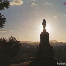 Postales: SORIA SAGRADO CORAZON DESDE EL CASTILLO. Lote 198897428