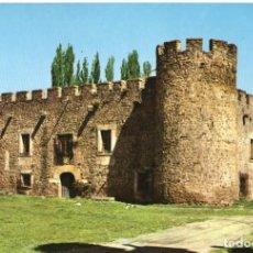 Postales: SORIA CASA FUERTE DE SAN GREGORIO-PLAZA MAYOR 2 POSTALES. Lote 198897686