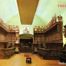 Postais: VALLADOLID SILLERIA MUSEO NACIONAL ESCULTURA. Lote 199052361