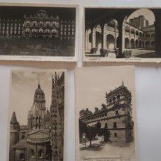 Postales: POSTALES SALAMANCA LA CATEDRAL PALACIO DE MONTERREY PATIO DE LOS IRLANDESES PLAZA MAYOR. Lote 199102042