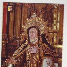 Postales: AVILA - IMAGEN DE SANTA TERESA - SEMANA SANTA CASTELLANO-LEONESA. Lote 199112251
