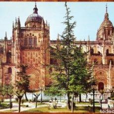 Postales: POSTAL CATEDRAL NUEVA DE SALAMANCA. Lote 199209385