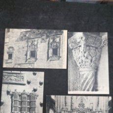Postales: SALAMANCA, LOTE DE 4 POSTALES. Lote 199401415