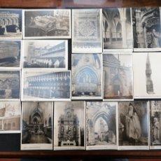 Postales: BURGOS, LOTE DE 28 POSTALES, 2 CIRCULADAS RESTO S/C. Lote 199407395