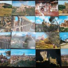 Postales: SEGOVIA, LOTE DE 48 POSTALES. Lote 199767241