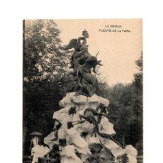 Postales: LA GRANJA DE SAN ILDEFONSO.(SEGOVIA).- FUENTE DE LA FAMA.. Lote 199953217
