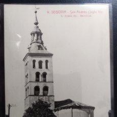 Postales: SEGOVIA, SAN ANDRÉS, ROISIN, BARCELONA.. Lote 200119103