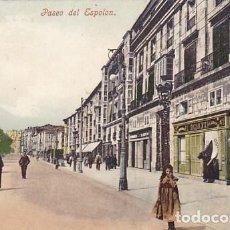 Cartoline: BURGOS PASEO DEL ESPOLON. COLECCION CERVANTES Nº 9. REVERSO SIN DIVIDIR. COLOREADA. SIN CIRCULAR. Lote 200168016