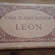 Postales: BLOC POSTAL CASA ELADIO SANTOS LEÓN. FOTOTIPIA THOMAS, BARCELONA. Lote 200514806