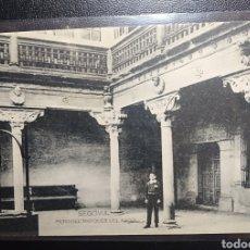 Postales: SEGOVIA, PATIO DEL MARQUES DEL ARCO, HAUSER Y MENET, MADRID.. Lote 200524010