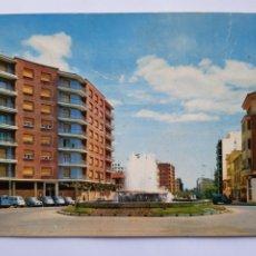 Postales: POSTAL PALENCIA, FUENTE LUMINOSA Y AVENIDA VALLADOLID, N°13,CASTILLA LEÓN, CIRCULADA.. Lote 200533426