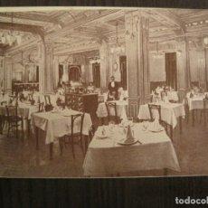 Cartes Postales: VALLADOLID-HOTEL INGLATERRA-TARJETA PUBLICIDAD ANTIGUA DOBLE-VER FOTOS-(68.969). Lote 201541402