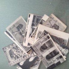Cartes Postales: LOTE ANTIGUAS POSTALES BURGOS. Lote 201972935