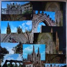 Postales: 16 ANTIGUAS POSTALES DE BURGOS, VER FOTOS. Lote 202470918