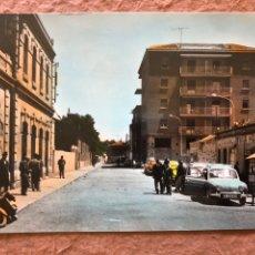 Postales: VENTA DE BAÑOS, CALLE GENERAL FRANCO (PALENCIA). ANTIGUA POSTAL SIN CIRCULAR.. Lote 203004868