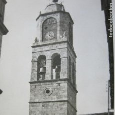 Postales: PUEBLA DE SANABRIA-IGLESIA-FOTOGRAFICA-POSTAL ANTIGUA-(69.444). Lote 203292371
